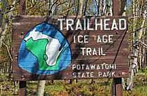 Ice Age Trail Sign - Eastern Terminus
