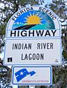 Indian River Lagoon Byway Road Sign