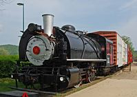Number 11 Steam Locomotive - Indiana Railway Museum