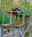 Cane Creek Footbridge - Stumphouse Tunnel Park - Walhalla, South Carolina
