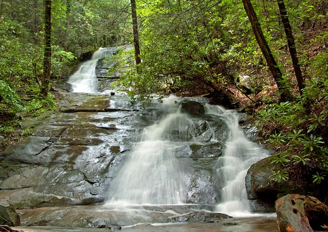 Fall Branch Falls - Fannin County, Georgia