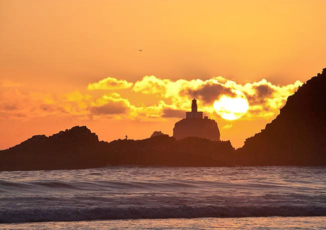 Tillamook Rock and Light Station - Clatsop County, Oregon