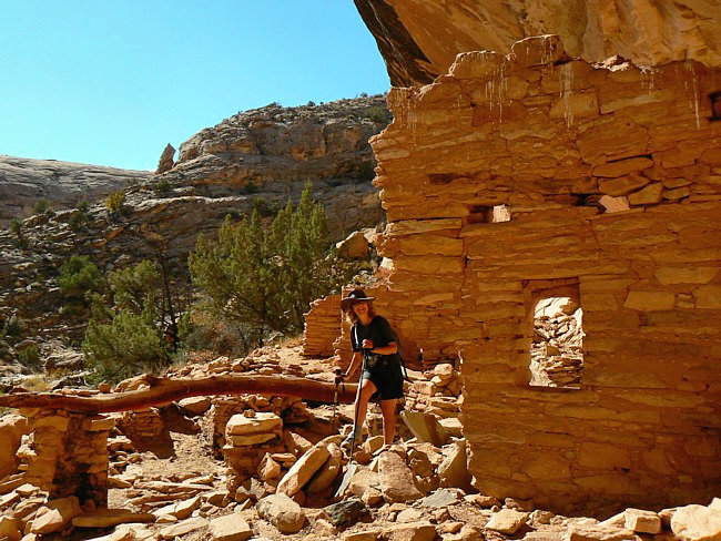 Butler Wash Ruins - Trail of the Ancients, Utah