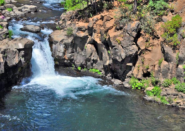 Lower Falls of the McCloud River - Siskiyou County, California