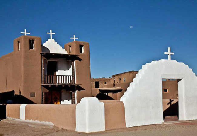St. Jerome's Chapel - Taos Pueblo, New Mexico
