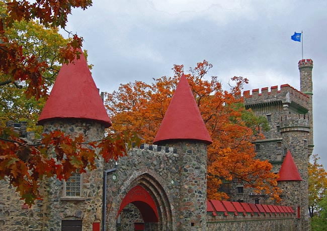 Usen Castle - Brandeis University, Waltham, Massachusetts