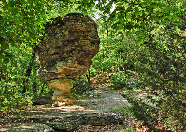 Pivot Rock - Eureka Springs, Arkansas