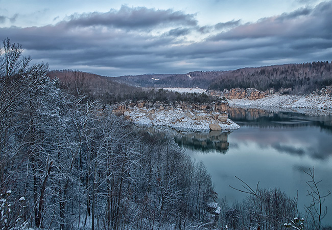 Summersville Lake - Mt. Nebo, West Virginia