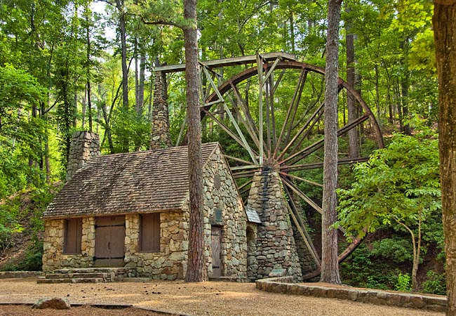 The Old Mill at Berry College - Mount Berry, Georgia