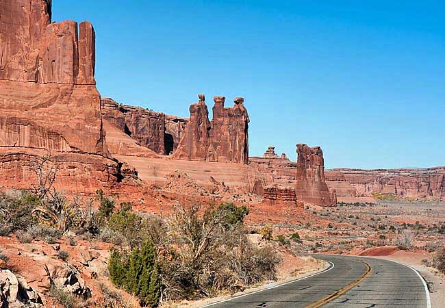 The Three Gossips - Arches National Park, Moab, Utah