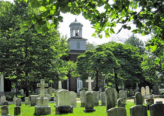 Holy Trinity (Old Swedes Church) - Wilmington, Delaware