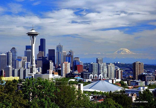 City Skyline - Seattle, Washington