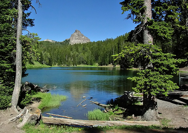 Wind River Lake - Centennial Scenic Byway, Wyoming