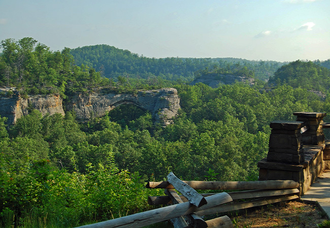 Natural Arch Scenic Area - Whitley City, Kentucky