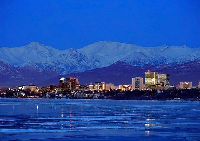 Anchorage Skyline - Alaska