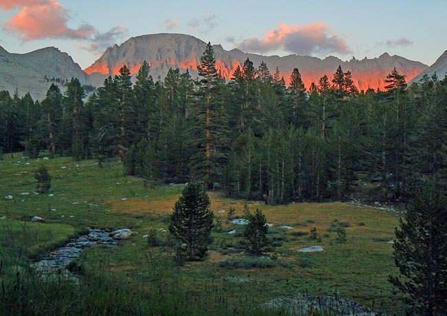 Crabtree Meadow - John Muir Trail, California