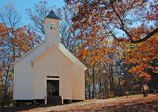 Missionary Baptist Church - Great Smoky Mountain National Park, Tennessee