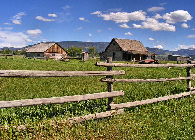 Mormon Row - Grand Teton National Park, Wyoming