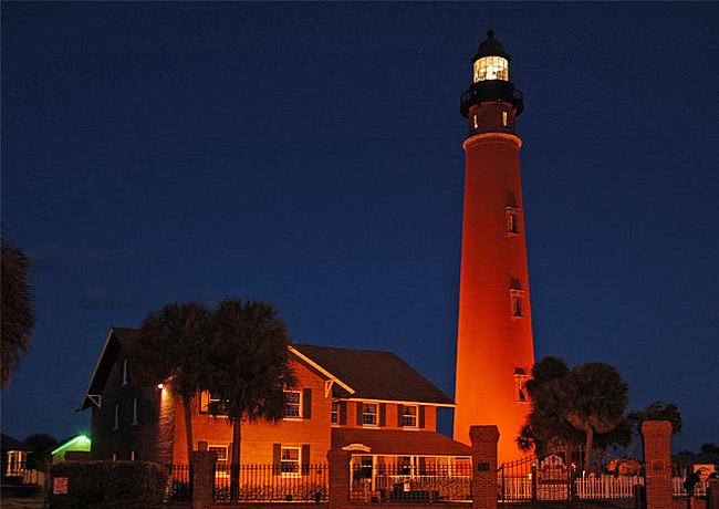 Florida Lighthouses Map.Florida Lighthouse Trail Florida