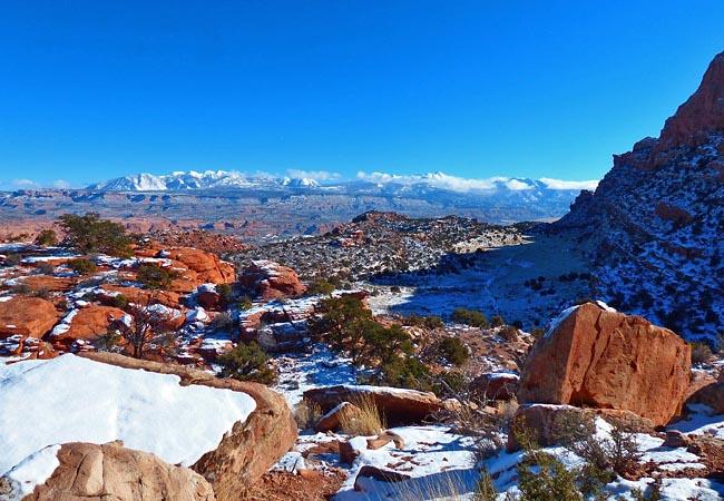 Behind The Rocks Utah