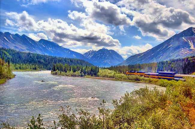 Susitna River Valley