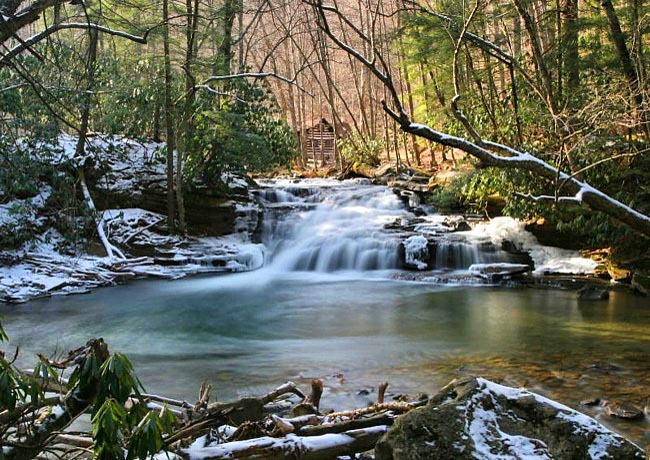 Mill Creek Falls - Kumbrabow State Forest