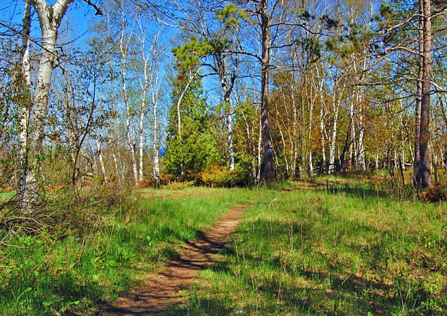 Eastern Terminus of the Ice Age Trail - Potawatomi State Park, Wisconsin