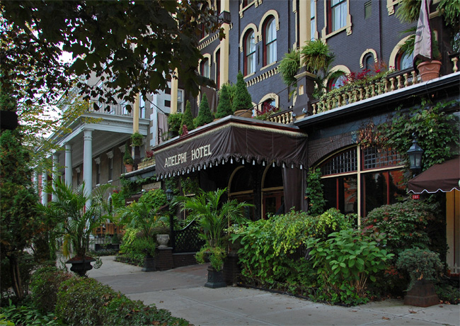 Adelphi hotel new york for New hotels in saratoga springs ny