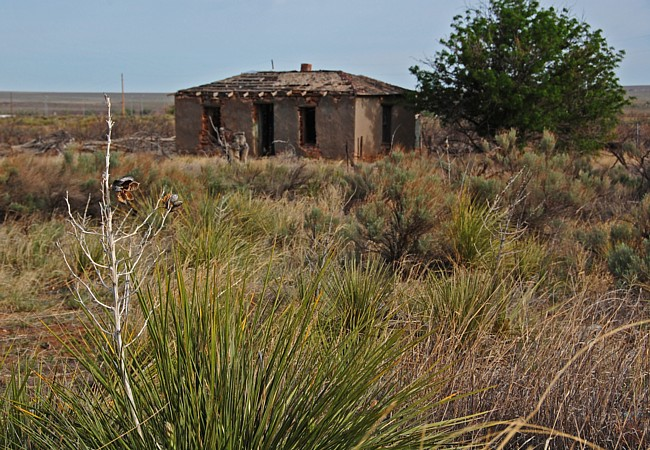 Glenrio - a Texas / New Mexico ghost town