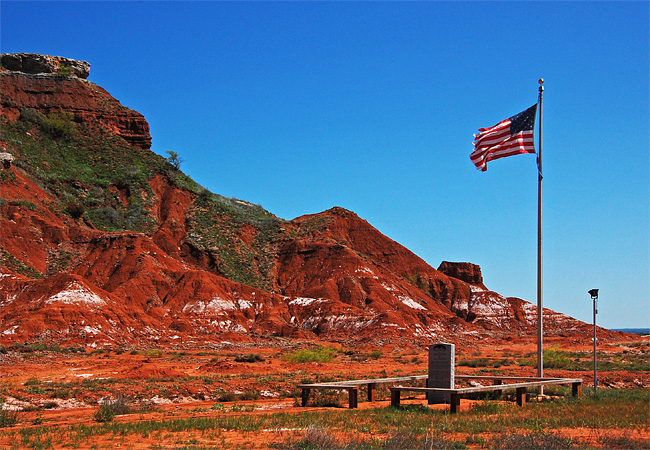 Gloss Mountains State Park - Fairview, Oklahoma