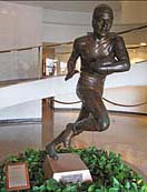 Jim Thrope Statue, Pro Football Hall of Fame - Canton, Ohio