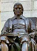 John Harvard Statue - Harvard University, Cambridge, Massachusetts