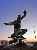 Kelly Slater Statue - Cocoa Beach, Florida