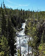 Kepler Cascade - Yellowstone National Park