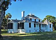 Kingsley Plantation Main House - Fort George Island, Florida