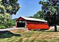 Klinepeter Covered Bridge