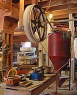 Interior Machinery - Kymulga Mill,  Childersburg, Alabama