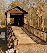 Kymulga Covered Bridge - Childersburg, Alabama