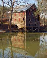Kymulga Mill River View - Childersburg, Alabama