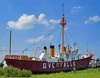 Lightship Overfalls- Lewes-Rehoboth Canal, Lewes, DE