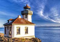 Lime Kiln Lighthouse - San Juan Islands Scenic Byway, WA