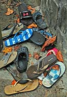 Looking Glass Falls - Sandal collection