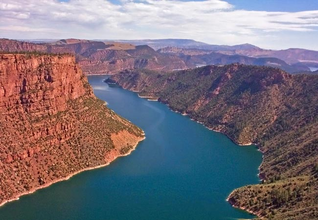 Flaming Gorge - Sweetwater County, Wyoming