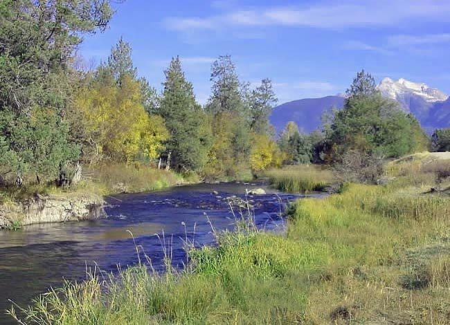 Mission Creek - National Bison Range, Moiese, Montana