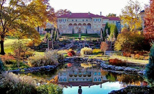 Philbrook Gardens Oklahoma
