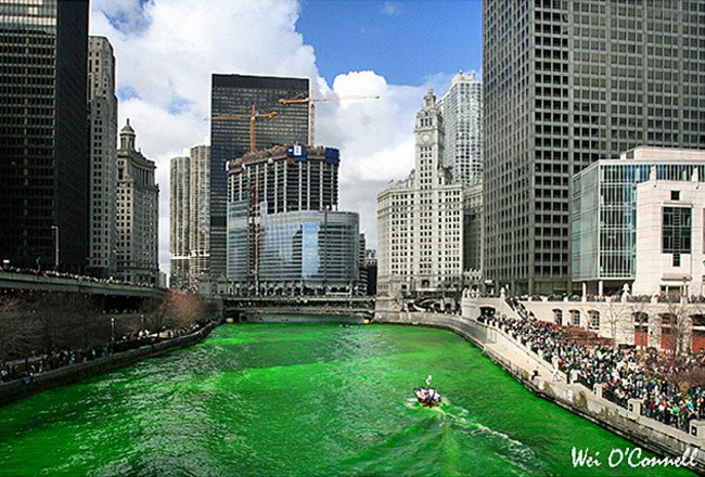 fluss chicago st patricks