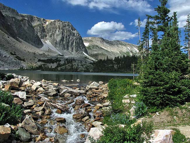 Lake Marie - Laramie, Wyoming