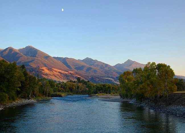 East River Road - Livingston, Montana