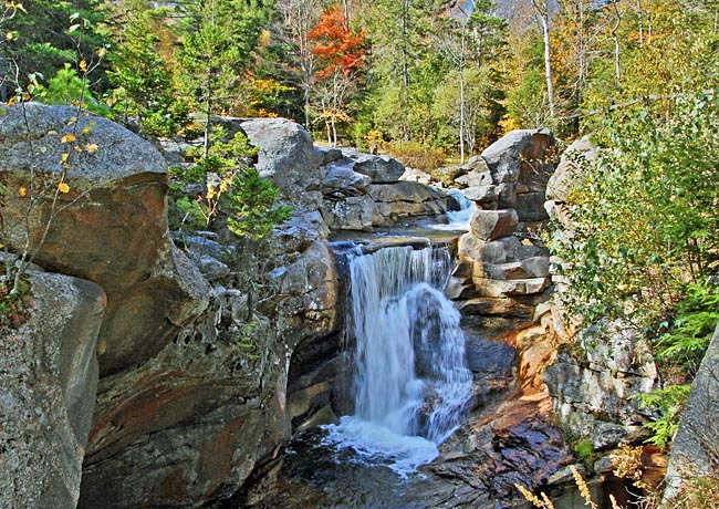 Screw Auger Falls - Grafton Notch State Park, Maine