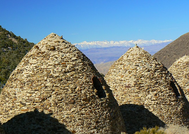 Wildrose Charcoal Ovens - Death Valley, California